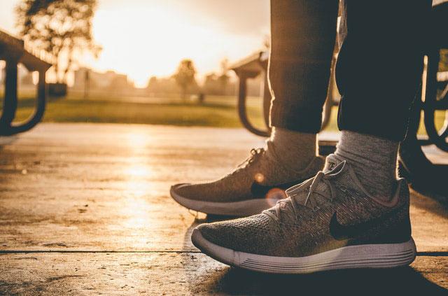Blasen Fuß vorbeugen