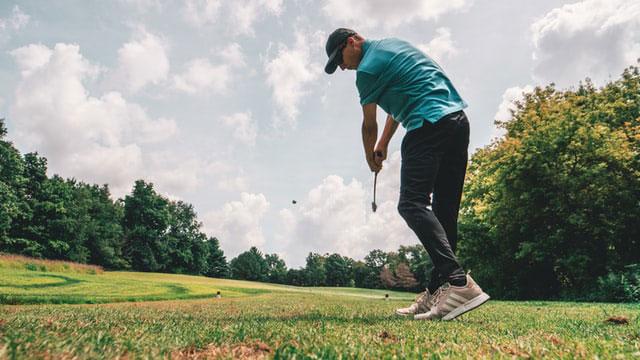 Golf Schlag Schnellkraft