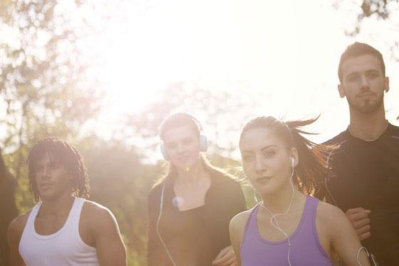 Laufgruppe Motivation Gemeinschaft