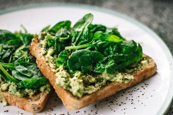 Was isst ein veganer Läufer